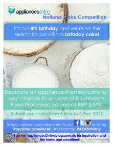 Appliances Online National Competition 8th Birthday