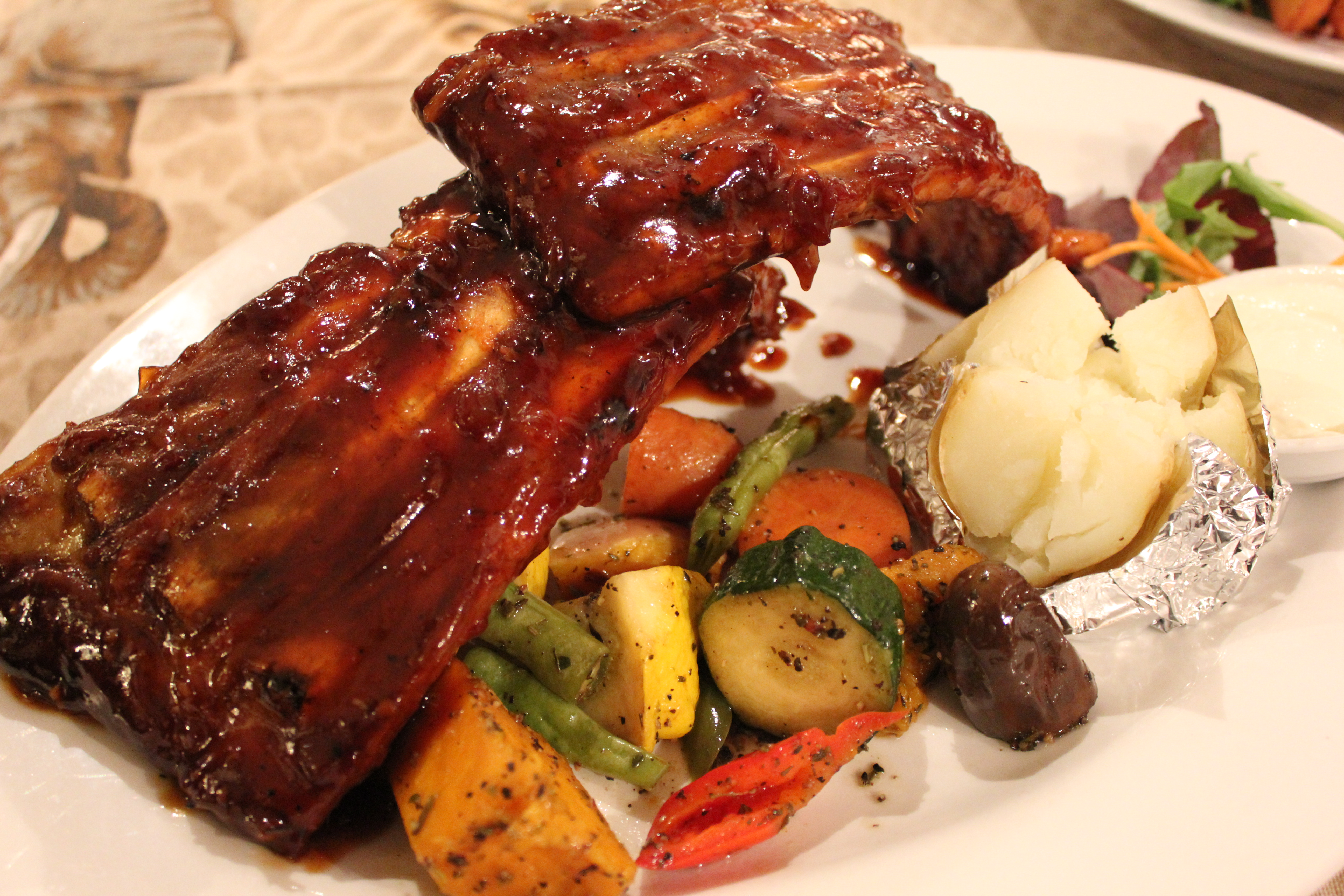 how to cook bbq pork side ribs