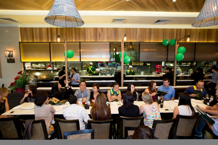PappaRich Carousel Perth Launch. Photo: Ze W/Event Photos Australia Pty Ltd.